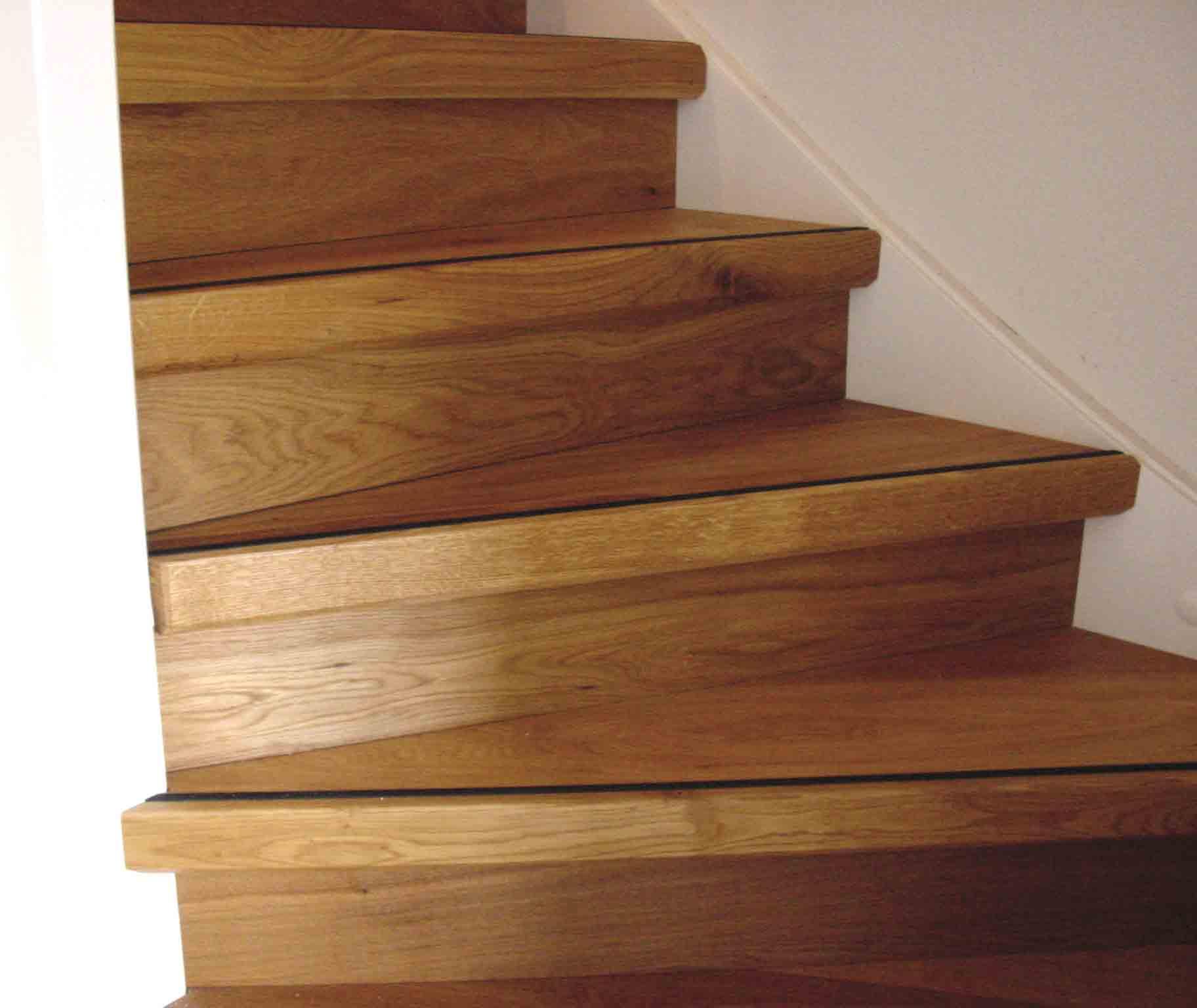 Traprenovatiepakket inclusief stootbord actielaminaat bv - Renovatie houten trap ...