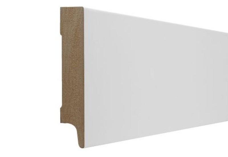 Mdf plint mm recht ral mat gelakt inspired vloeren